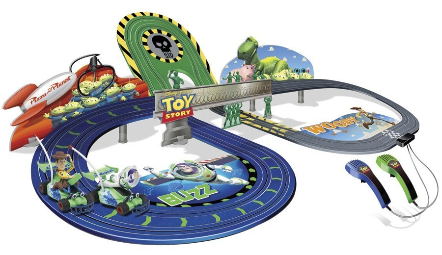 circuit toy story scalextric g1063 g1063 circuit voiture. Black Bedroom Furniture Sets. Home Design Ideas