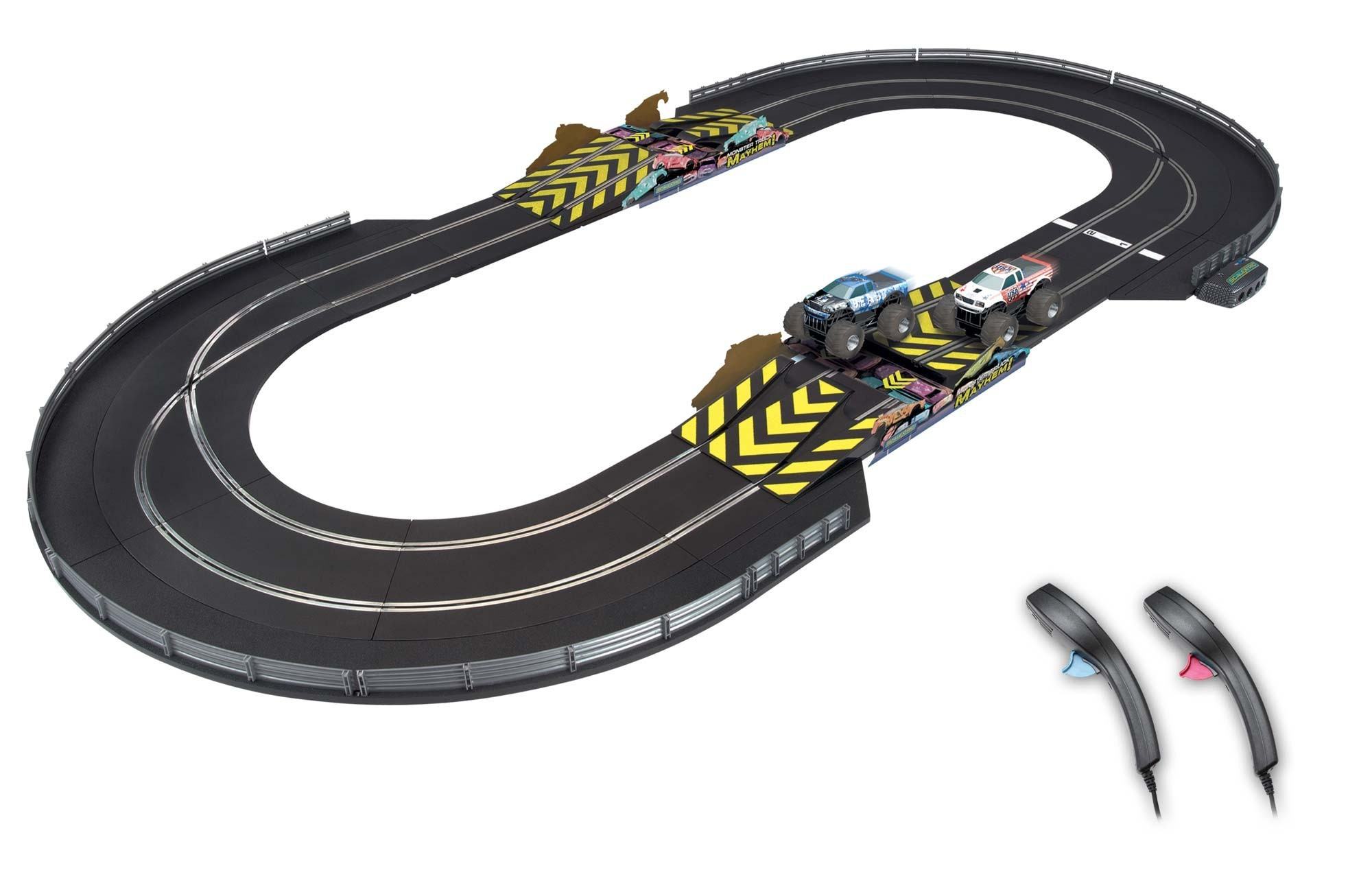 scalextric monster truck mayhem sca1302p circuit voiture. Black Bedroom Furniture Sets. Home Design Ideas