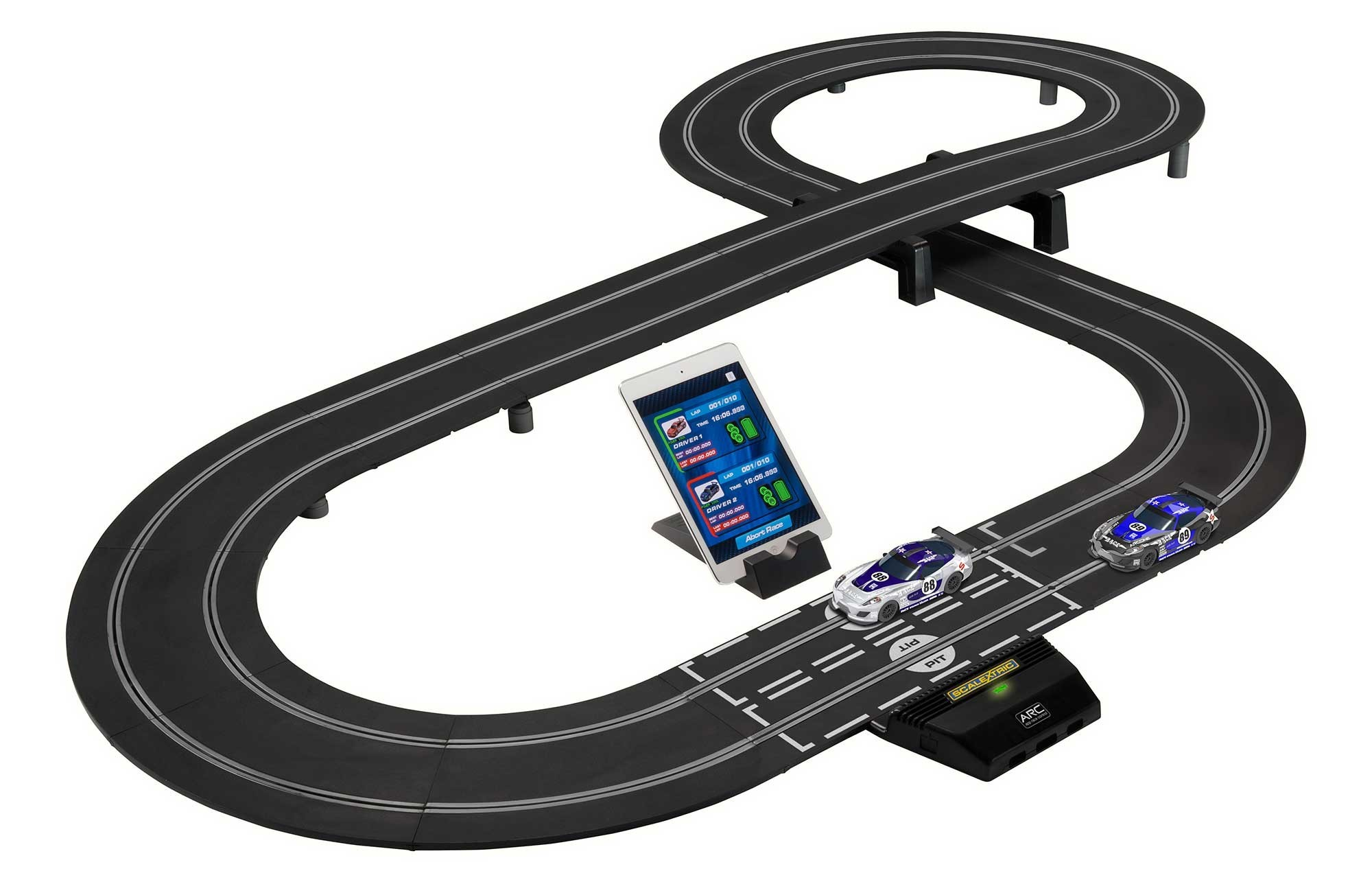 arc one system scalextric sca1329p circuit voiture. Black Bedroom Furniture Sets. Home Design Ideas