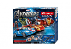 Circuit The Avengers Carrera 1/43