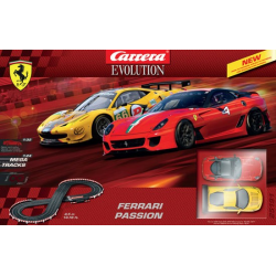 Exclu circuit Ferrari Passion Carrera 1/24